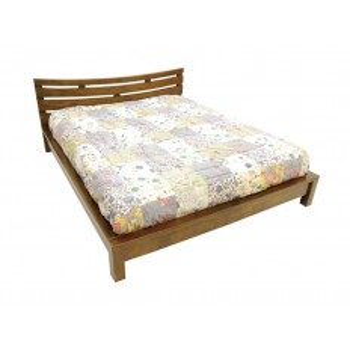 Lit 160 Horizon Hévéa - meuble style ethnique