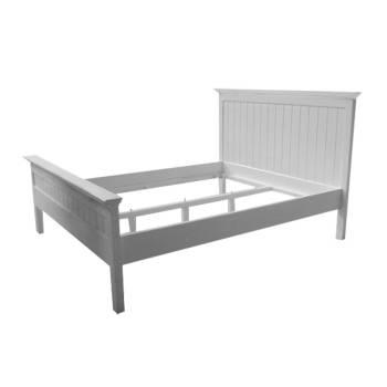 Lit 160/180 Torini Acajou - meuble bois massif
