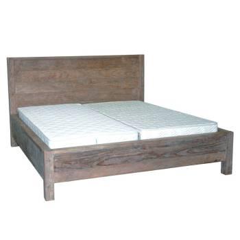 Lit Felix Teck Recyclé - meuble bois massif