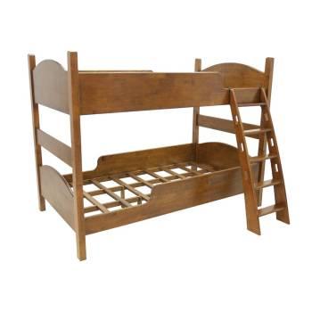 Lit Superposé Montréal Hévéa - meuble design
