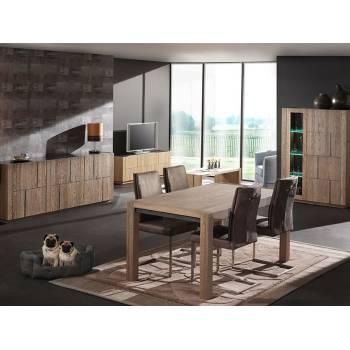 Meuble Bar Capri Chêne - meubles bois massif
