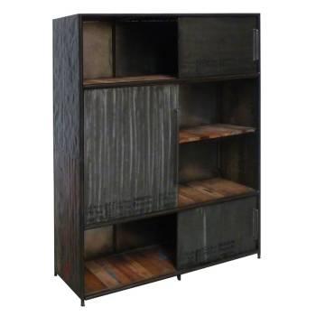 Meuble Bar Luxor Teck - meuble bois massif