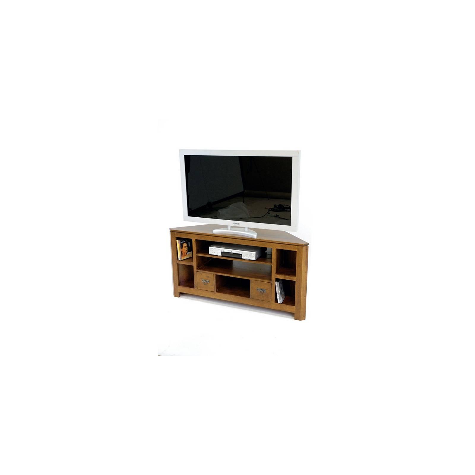 Meuble d'Angle Omega Hévéa - meuble style design