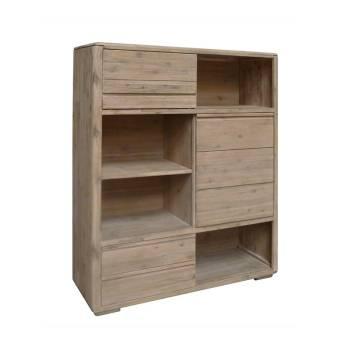 Buffet Haut Joëlle Acacia - meuble en bois massif