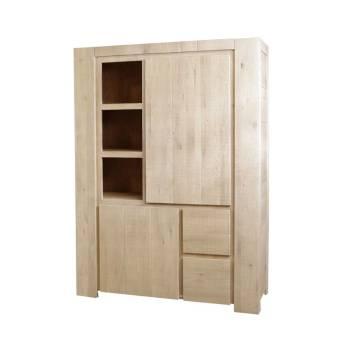 Meuble De Rangement Palma Chêne - meuble style contemporain