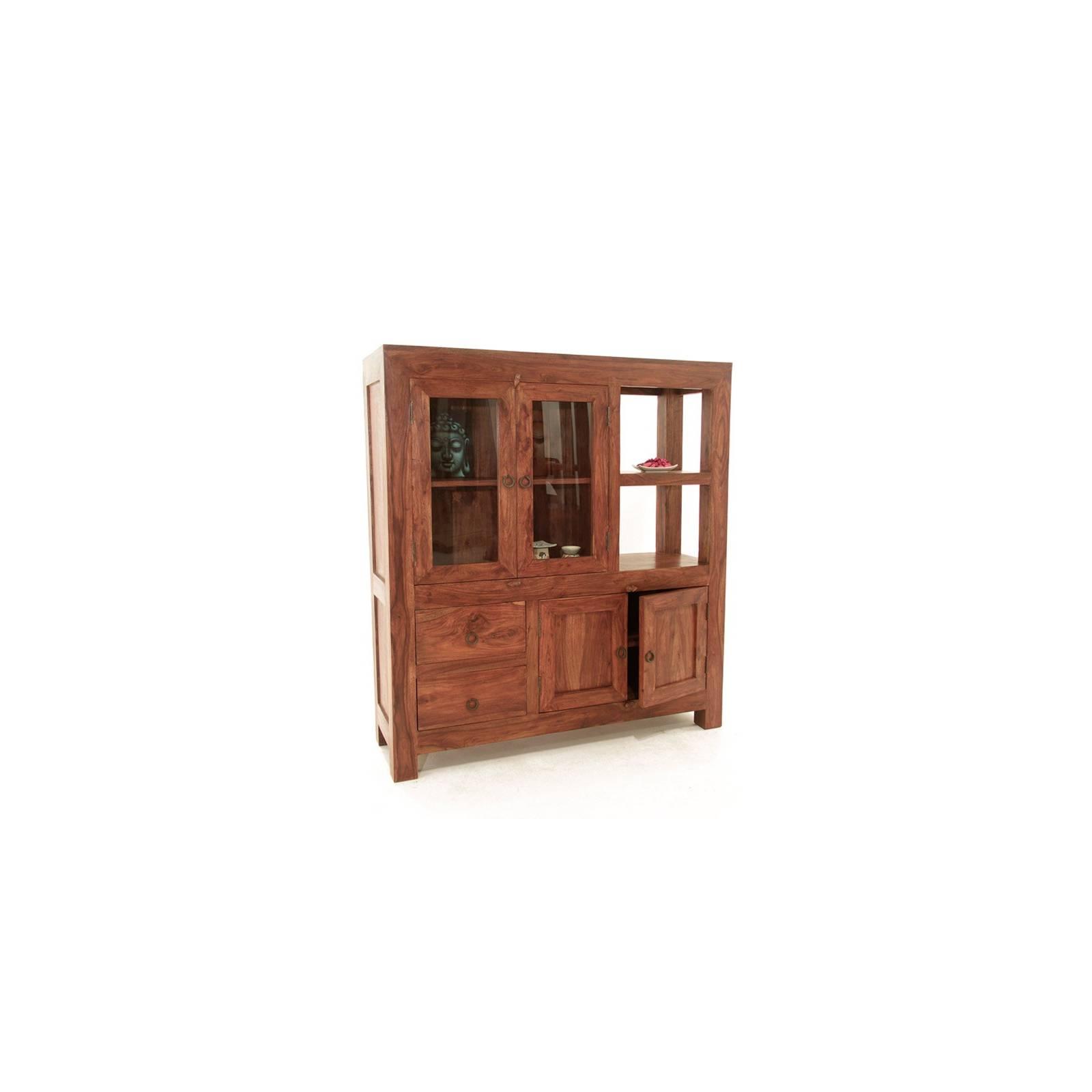 Meuble De Rangement Zen Palissandre - meubles bois exotique