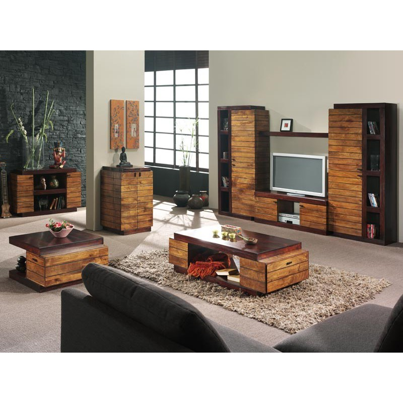 meuble tv art deco manguier mobilier haut de gamme. Black Bedroom Furniture Sets. Home Design Ideas
