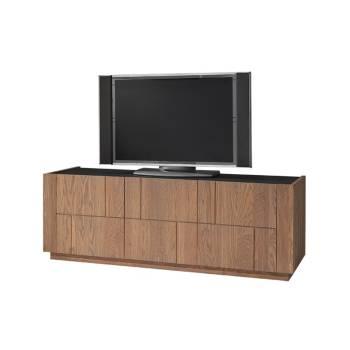 Meuble Tv Capri Chêne - meuble chêne massif