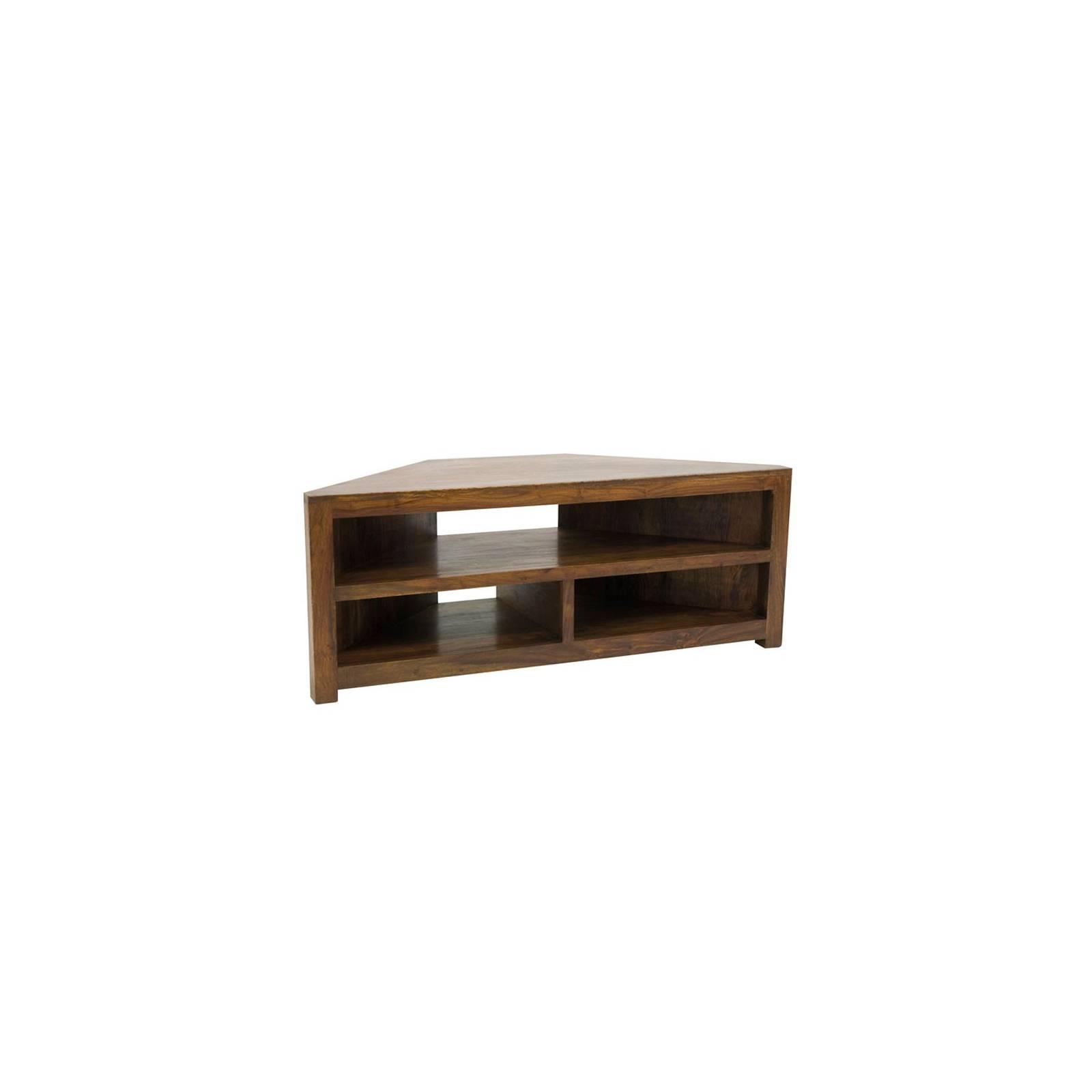 Meuble Tv d'Angle Zen Palissandre - meubles bois exotique