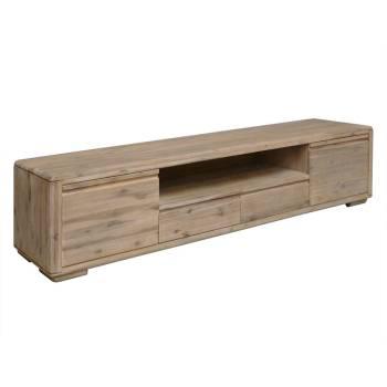Meuble Tv GM Joëlle Acacia - meuble en bois massif