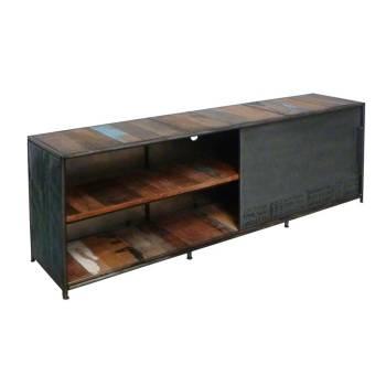 Meuble Tv GM Luxor Teck - meuble bois massif