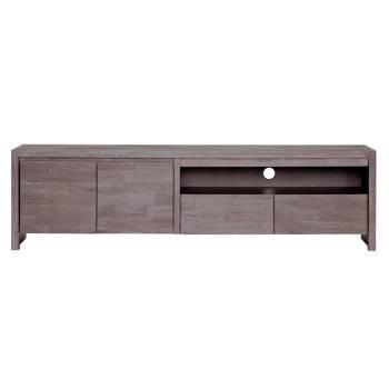 Meuble Tv Grand Modèle Volca Chêne - mobilier haut de gamme