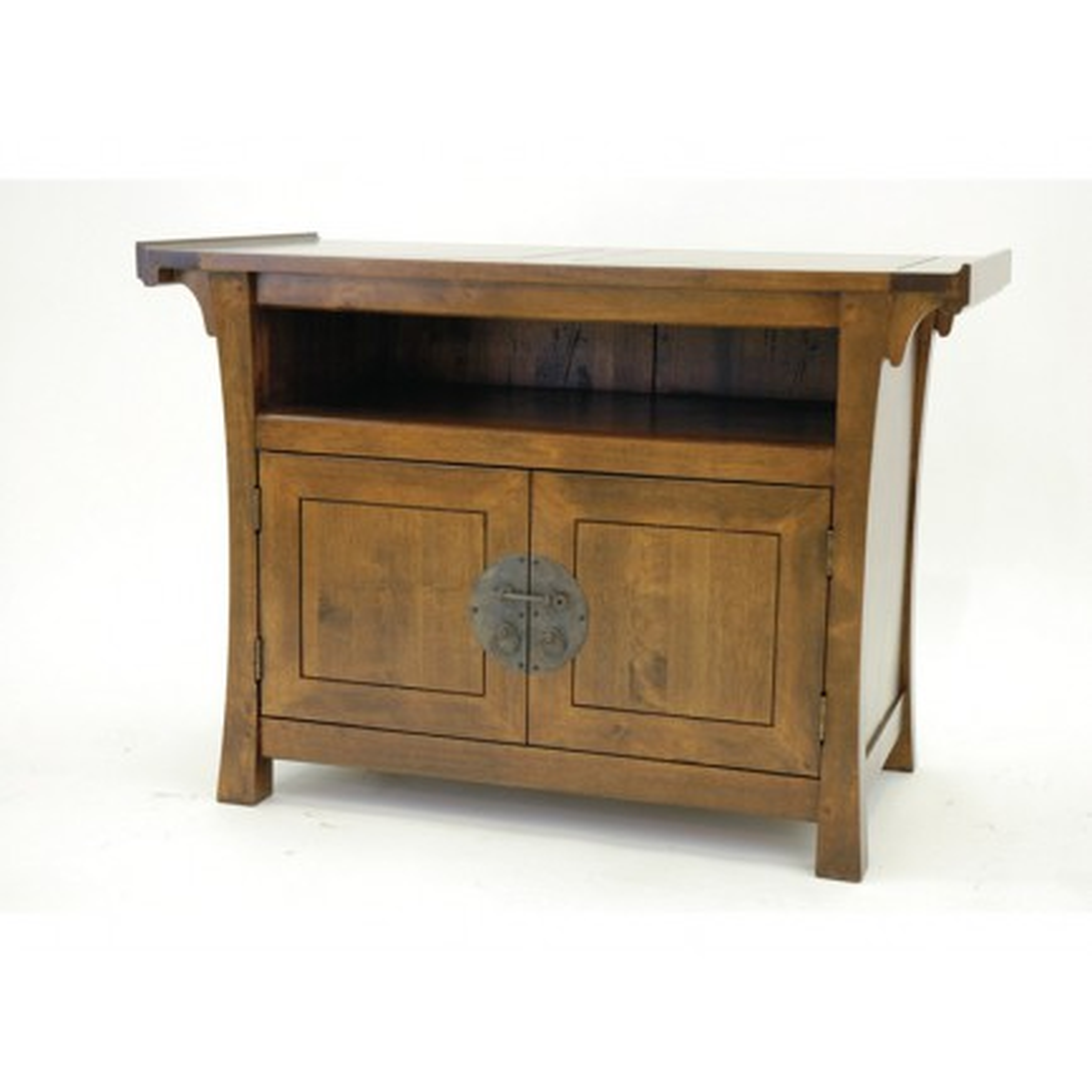 Meuble Tv Hifi Chine Hévéa - meuble bois exotique