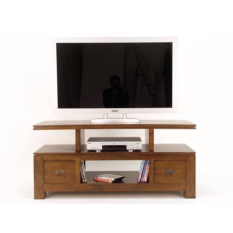meuble tv d 39 angle omega esprit ethnique design. Black Bedroom Furniture Sets. Home Design Ideas