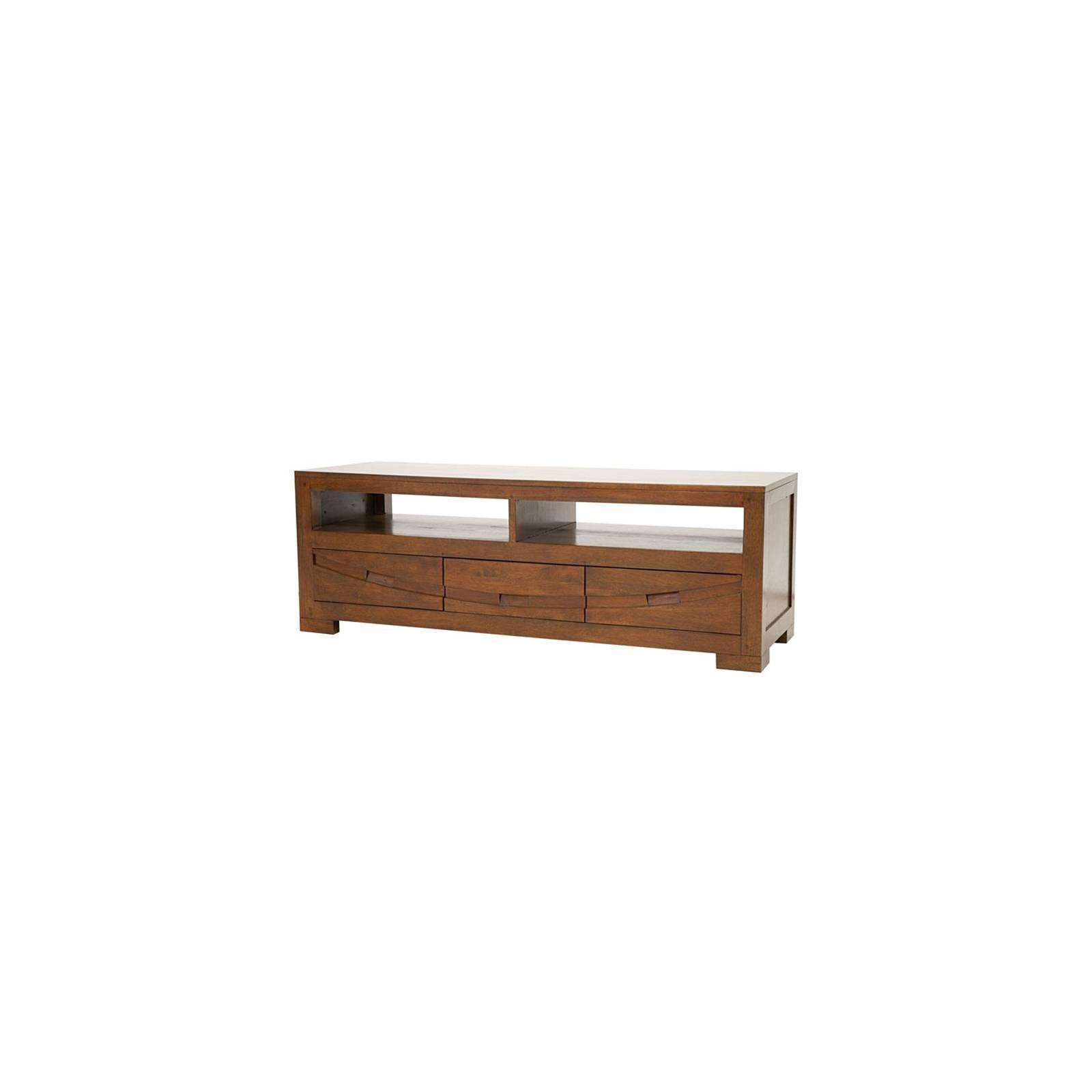 Meuble Tv Horizon Hévéa - meuble style ethnique