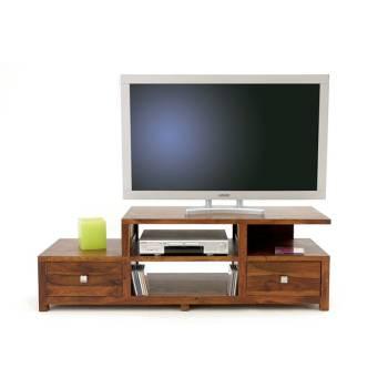 Meuble Tv Lhassa Palissandre - meuble tendance coloniale