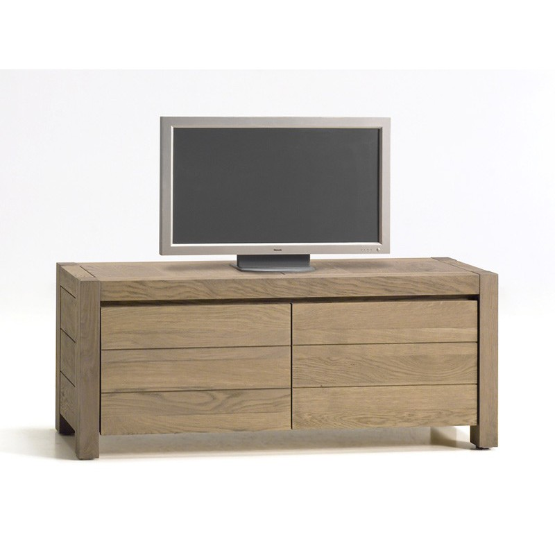 Meuble tv luxe new temptation mobilier contemporain for Meuble tv luxe