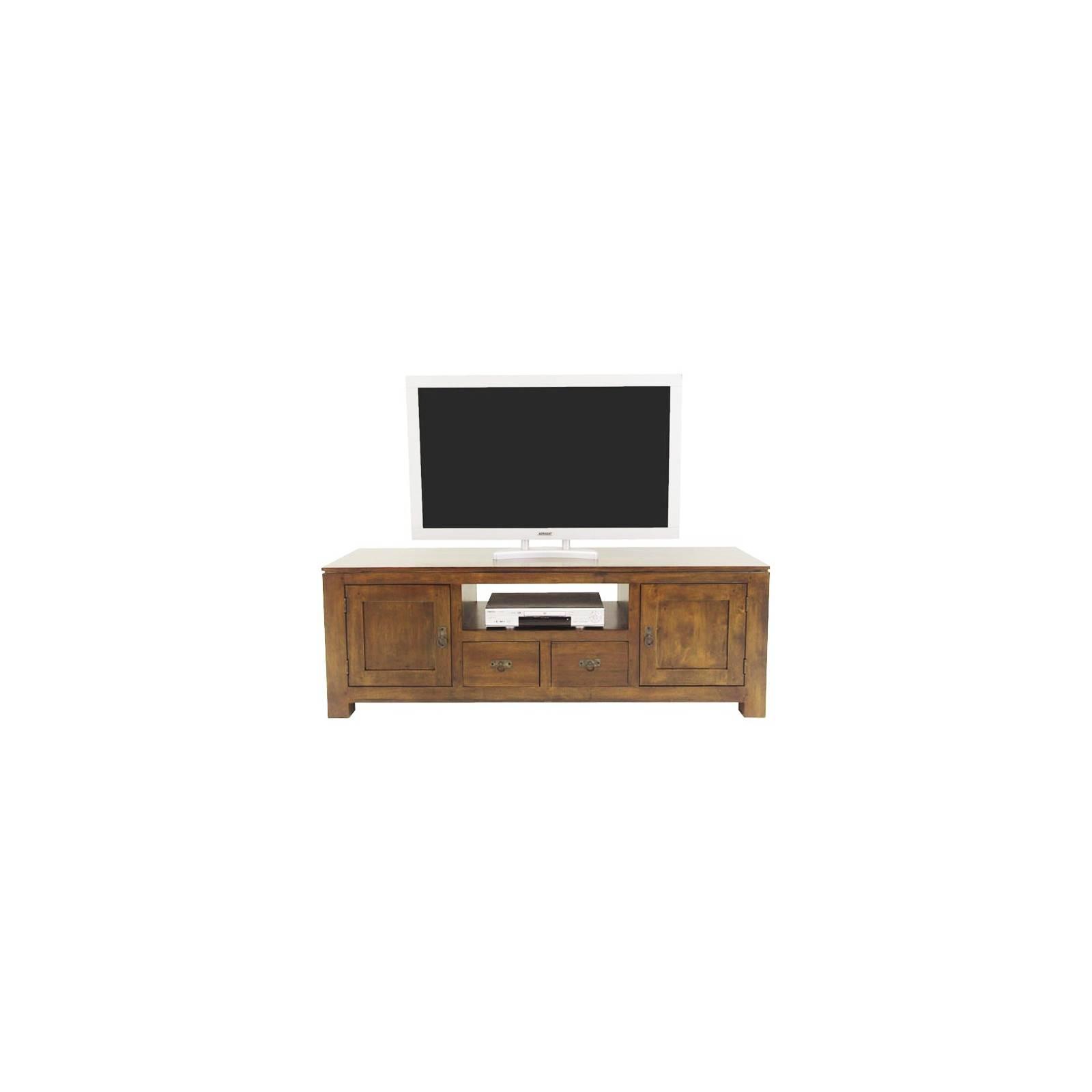 Meuble Tv Oméga Hévéa - meuble style design