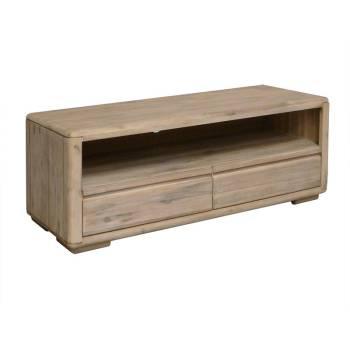 Meuble Tv PM Joëlle Acacia - meuble en bois massif