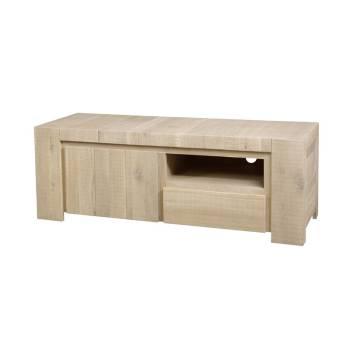 Meuble Tv PM Palma Chêne - meuble style contemporain