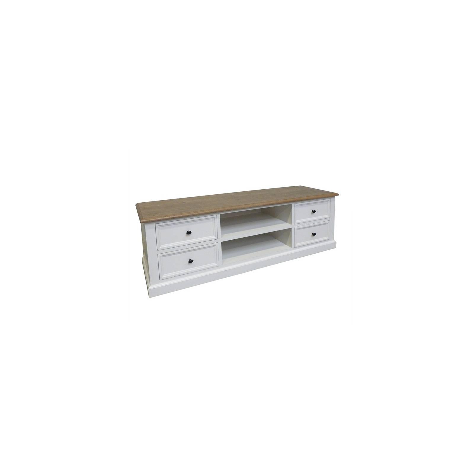 Meuble Tv Pin Camille - achat meuble au style classique