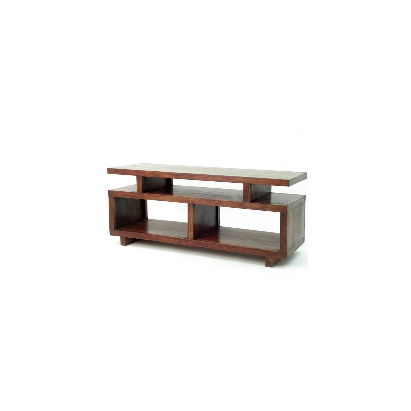 Meuble TV Déco Palissandre Zen - meubles bois exotique