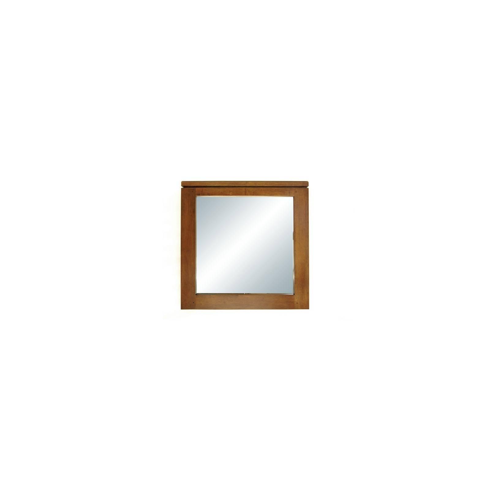 Miroir Carré Montréal Hévéa - meuble déco design