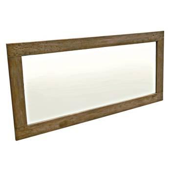 Miroir Felix Teck Recyclé - meuble bois massif