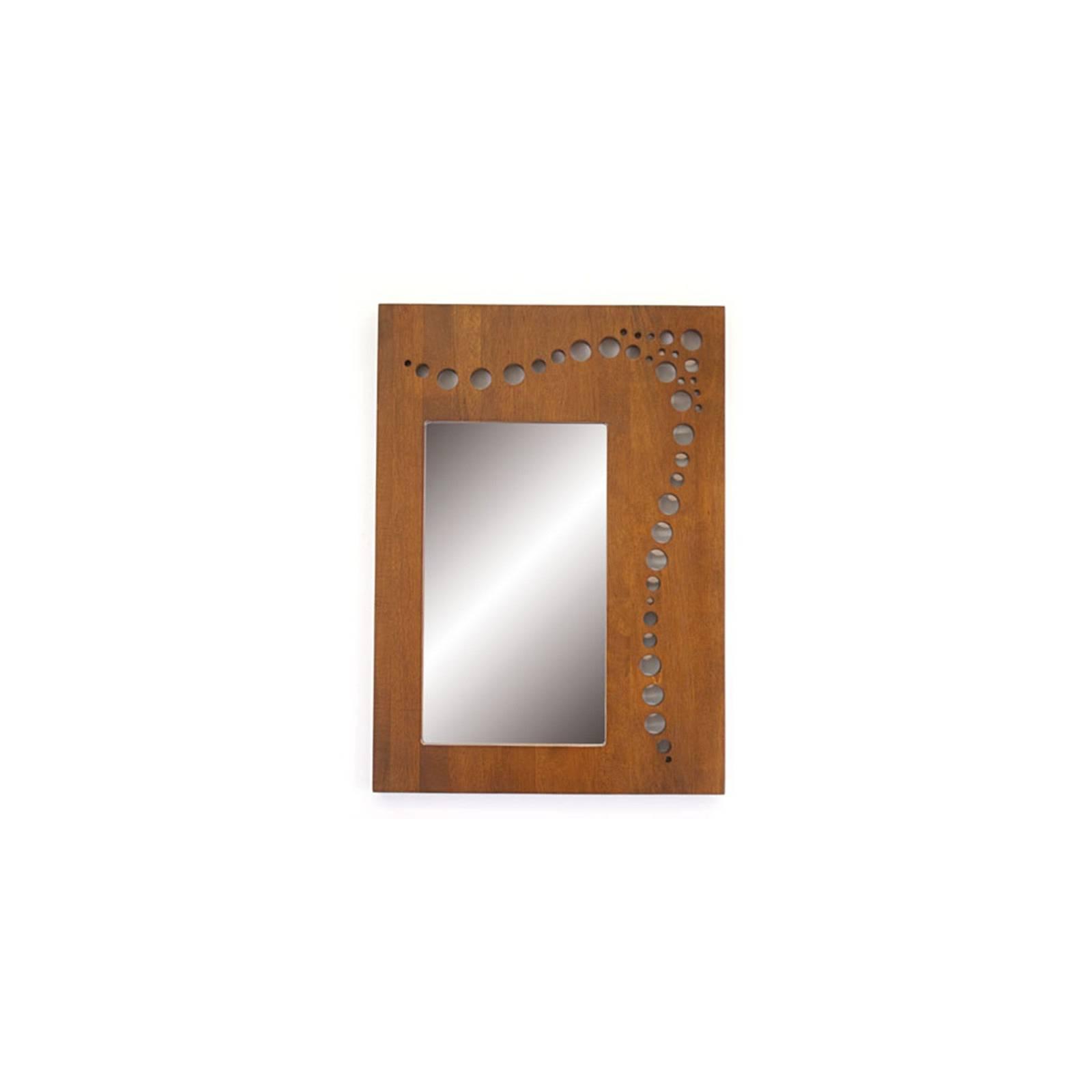 Miroir Rectangulaire Océania Hévéa - meuble style colonial