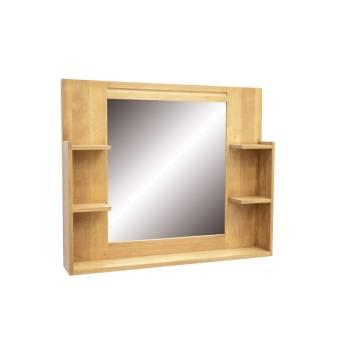 Miroir Simple Salle De Bain Fjord Hévéa - meuble déco