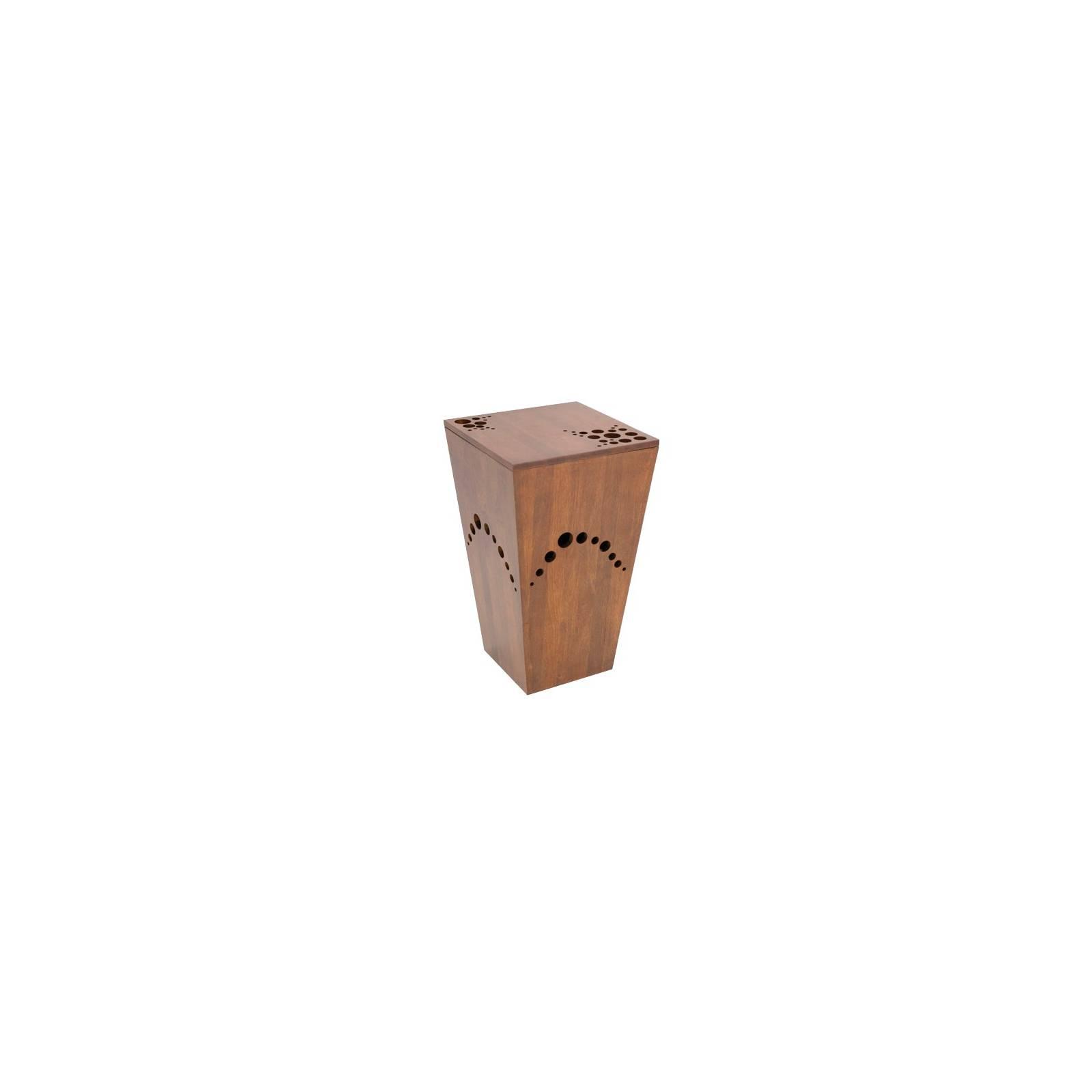Panier A Linge Oceania Hévéa - meuble style colonial