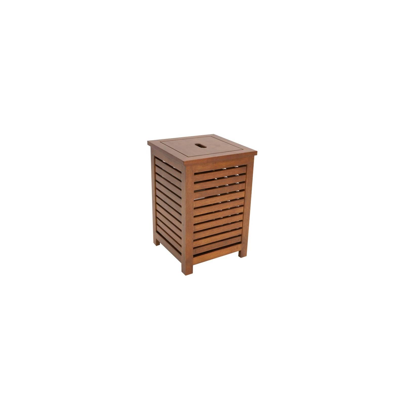 Panier A Linge Tradition Hévéa - meuble style classique