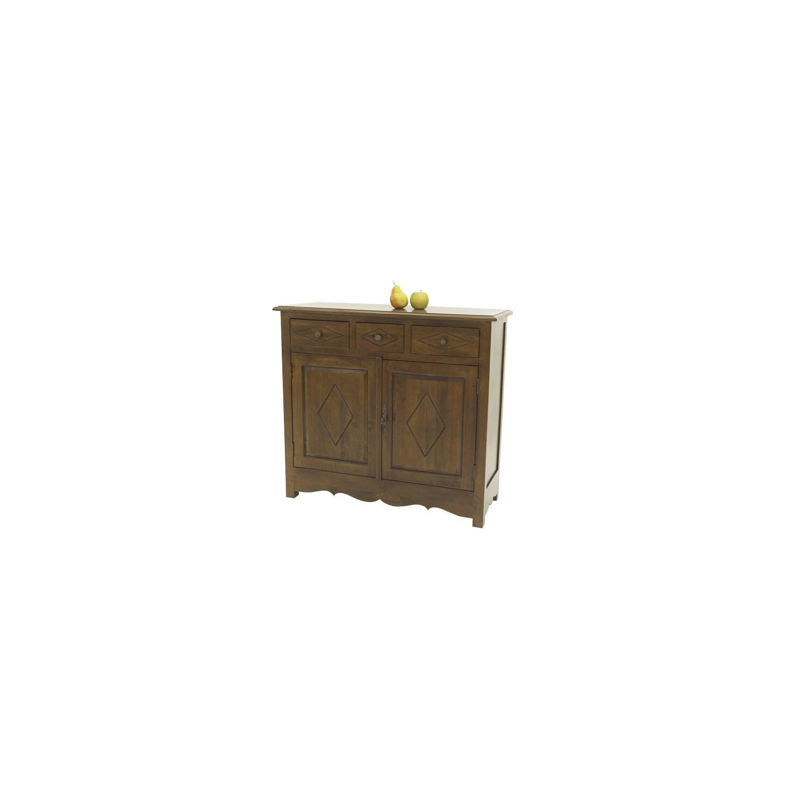Buffet Country Hévéa - meubles bois exotique