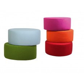 Pouf Coloré Circle