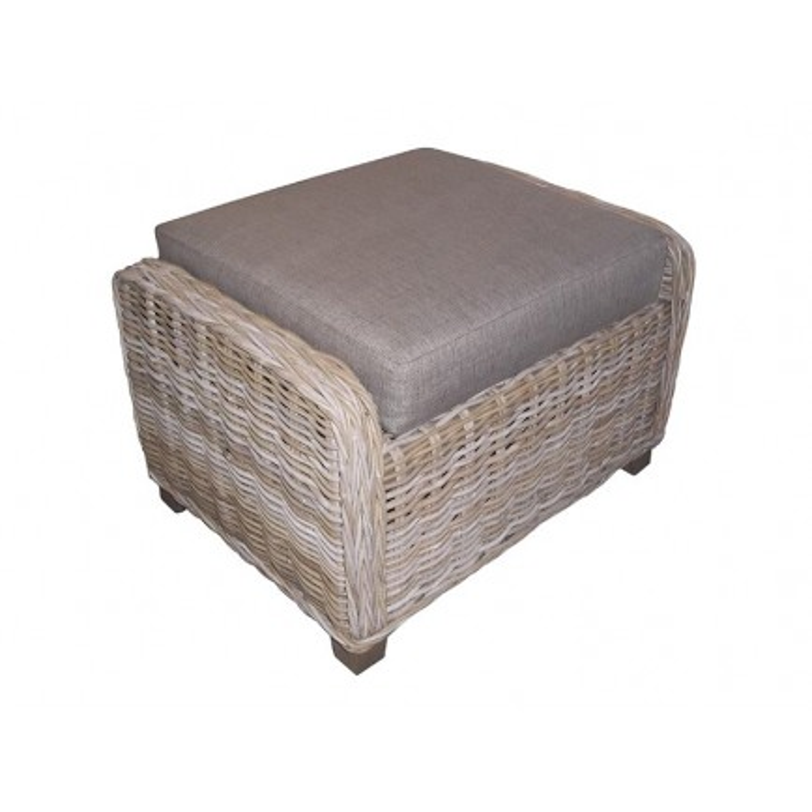 pouf avec coussin cyril achat de repose pieds classique. Black Bedroom Furniture Sets. Home Design Ideas