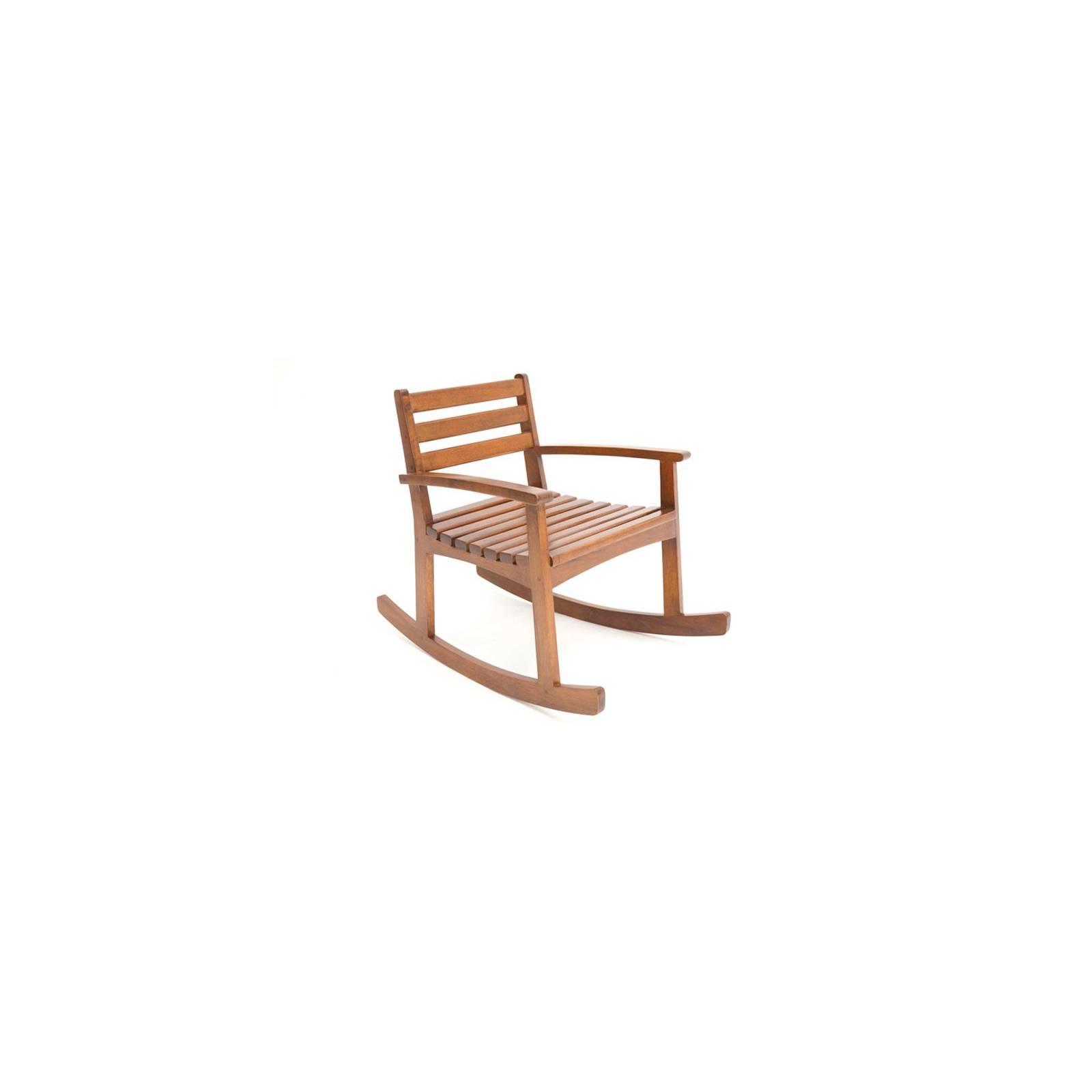 Rocking Chair Tradition Hévéa Meuble Bois Massif