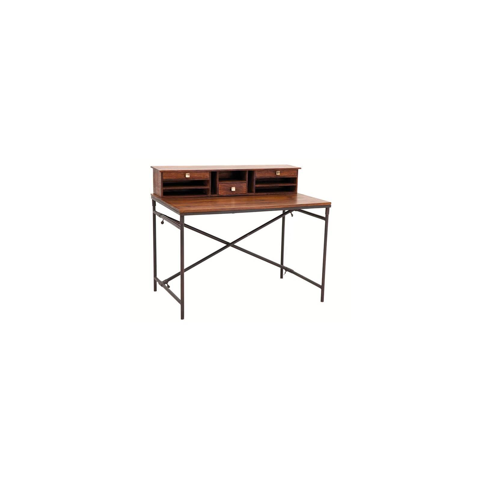 Secrétaire Loft Palissandre - meuble style industriel
