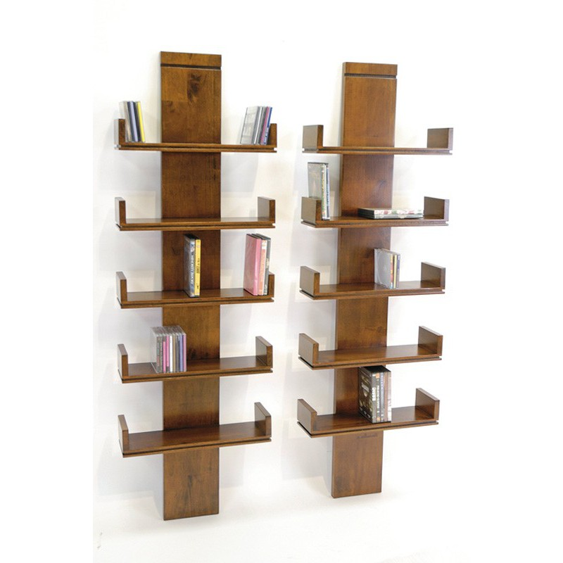Tag re murale personnalisable montr al h v a meuble d co design - Etagere murale pour cd ...