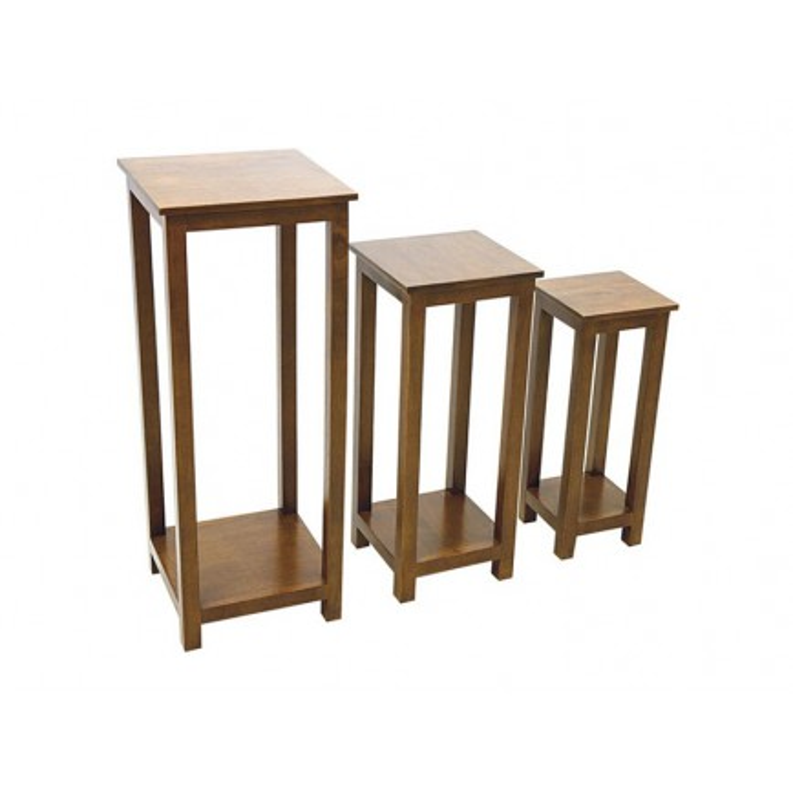 Set 3 Sellettes Tradition Hévéa - meuble style classique
