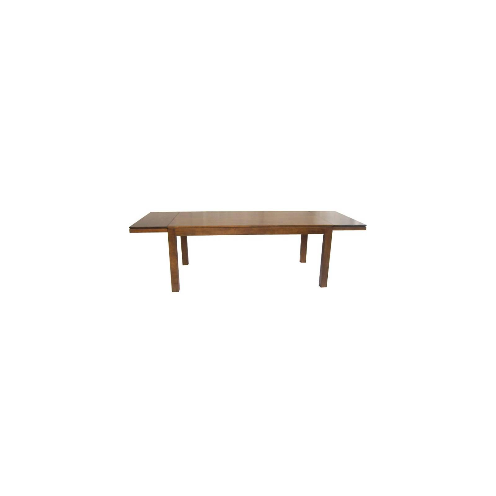 Table + Rallonges Montréal Hévéa - meuble écologiques