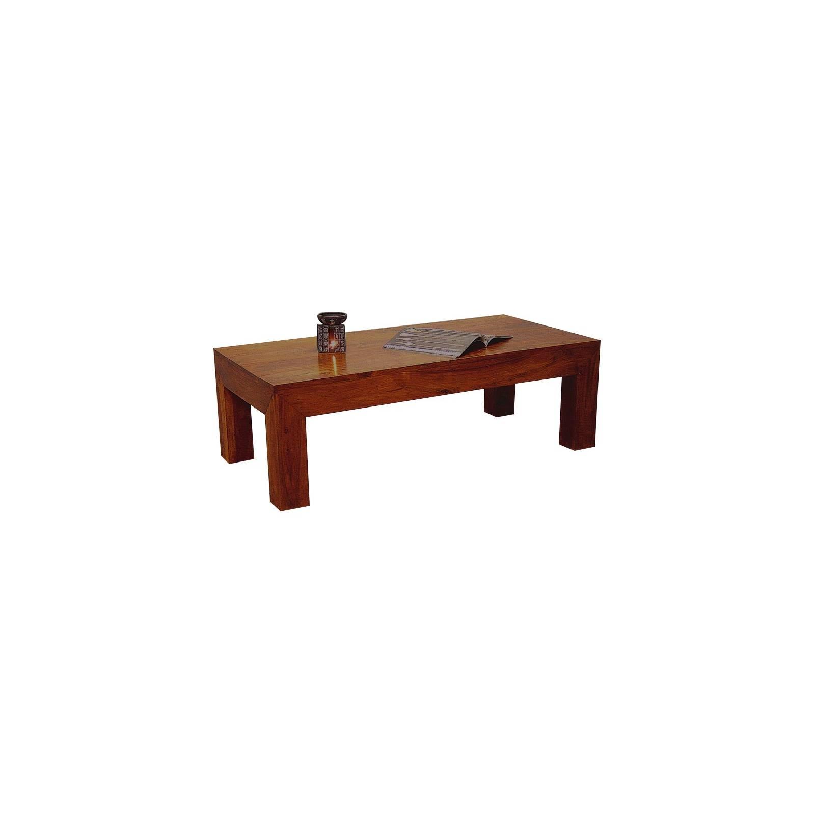 Table Basse Palissandre Zen 120 - meuble bois exotique
