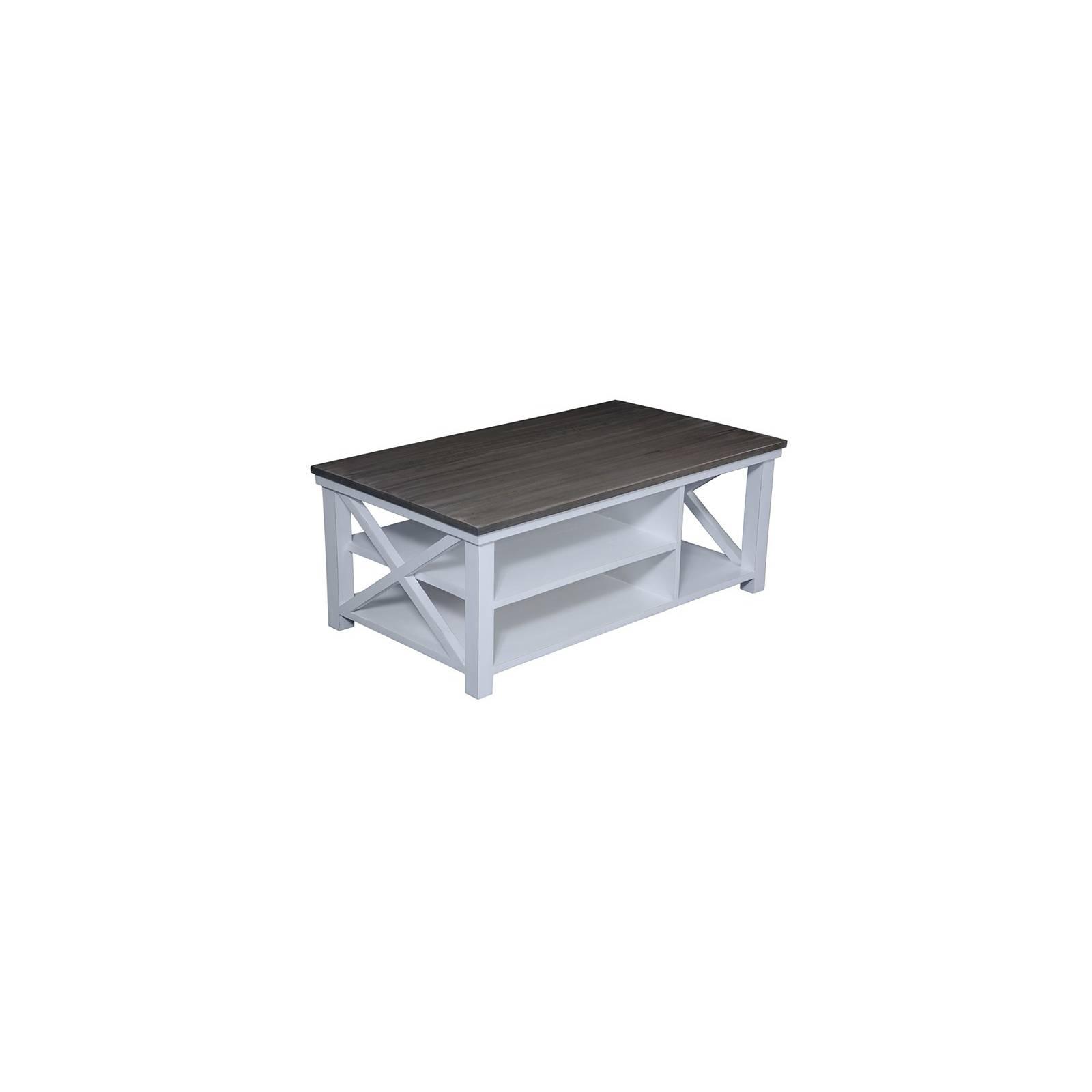 Table Basse Bokéo Manguier - meuble bois exotique