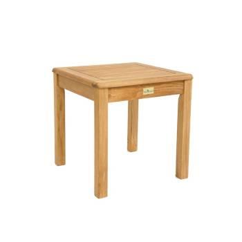 Table Basse Carré Taman Teck Recyclé - meuble de jardin