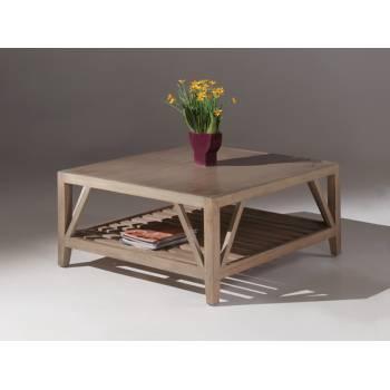 Table Basse Carrée Aurora Mindy - meuble style classique