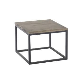 Table Basse Carrée Fer Forgé Vendôme Manguier