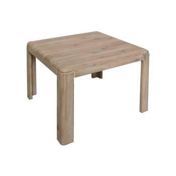 Table Basse Carrée Joëlle Acacia - meuble en bois massif