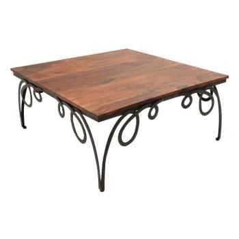 Table Basse Palissandre Déco Loft