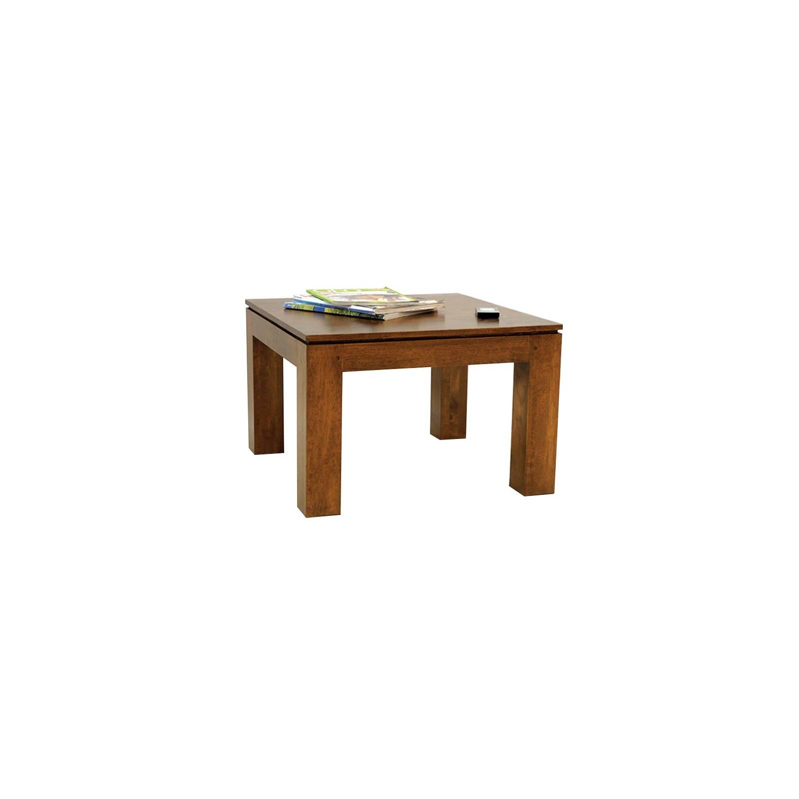 Table Basse Carrée Montréal Hévéa - meuble écologiques