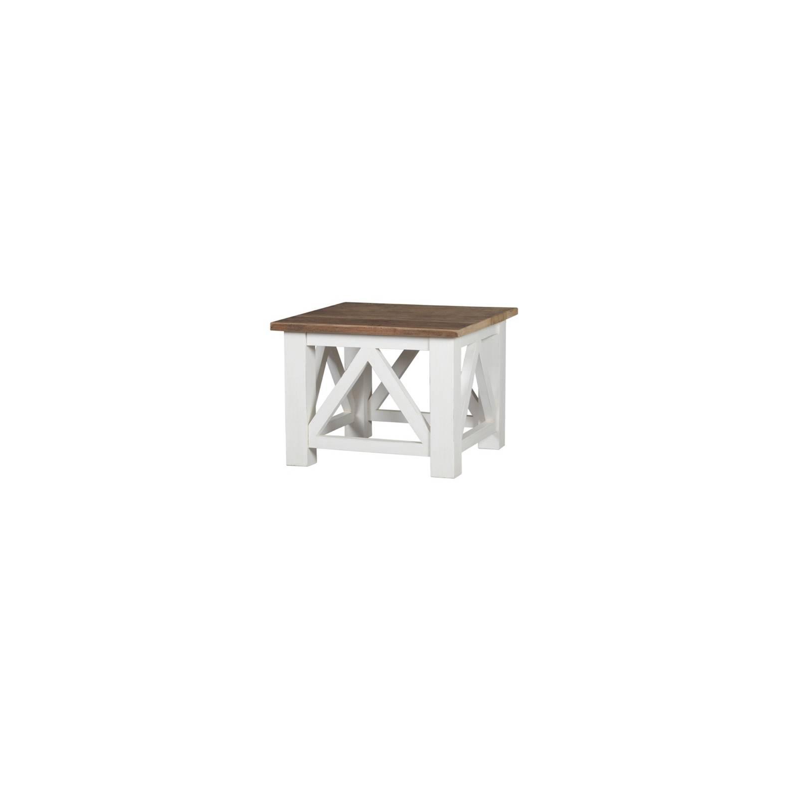Table Basse Croisillons Olimpia Teck - meuble teck massif