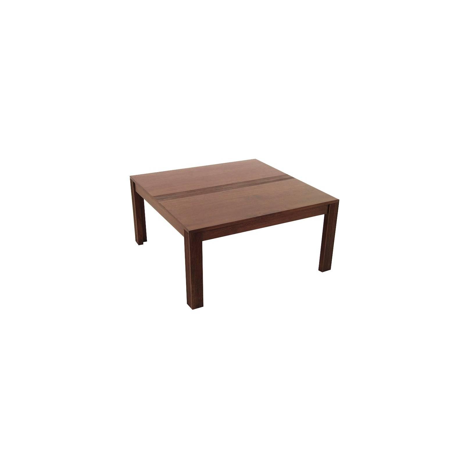 Table Basse Carrée Siguiri Hévéa - meuble colonial